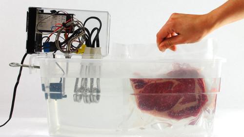 вакуумное приготовление мяса