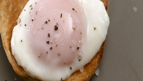 Яйцо пашот Хестон